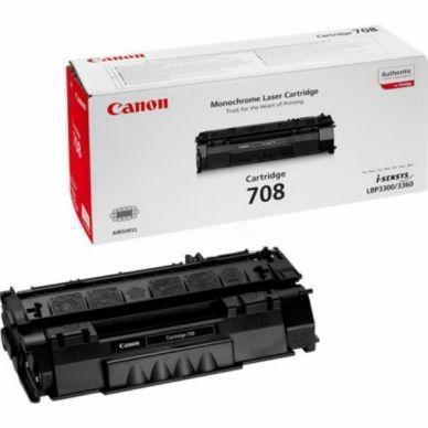 Canon Canon 708 Värikasetti musta, 2.500 sivua, CANON