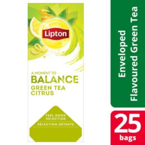 Te Lipton Green Tea Citrus 25/Fp