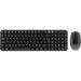 Deltaco trådlöst tangentbord och mus, nordisk layout