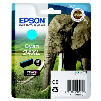 EPSON Mustepatruuna cyan, 740 sivua, high yield
